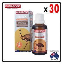 [ Purarose ] 30 x  Emu X Extra Heat 5 in 1 Emu Oil 50ml
