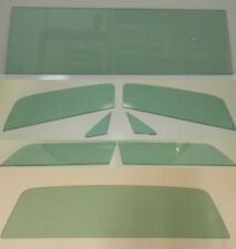 1966-1977 Ford Bronco Glass Windshield Vent Door Quarter Back Green Tint