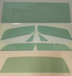 1966-1977 Ford Bronco Glass Series 98 Windshield Vent Door Quarter Back Green