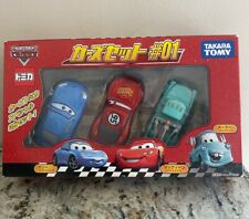 Disney Pixar Cars The World Of Cars Takara Tomy Collection Set #1 ~ BRAND NEW!