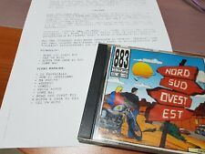 883 Max Pezzali NORD SUD OVEST EST CD 1a stampa + PROMO STAMPA