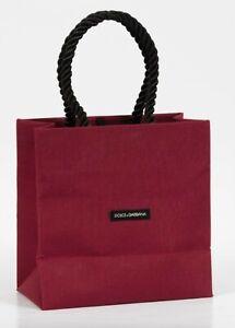 Dolce & Gabbana Fabric Gift Bag Rare New Style - Natural Finish