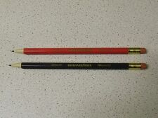 2 Unusual/Rare EBERHARD FABER EFAmatic Mechanical Pencils 0.5mm & 0.7mm GERMANY