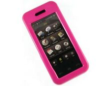 Hot Pink Hard Plastic Phone Protector Case Cover For Samsung Instinct M800