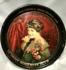 Detroit Brewing Co. Bohemian Beer pre-prohibition beer tray, 1911 Detroit, Mich.