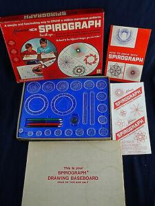 SPIROGRAPH 1967 ORIGINAL DRAWING TOY No. 401 VINTAGE SET KENNER Rare