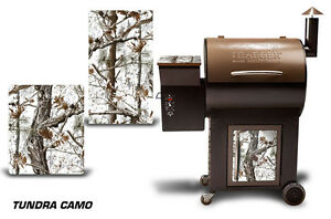 Traeger Smoker Grill Graphic Kit Decal Wrap Skin For CostCo Century Model TNDRA