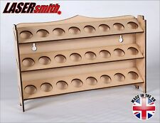 3mm MDF Ink & Glue Storage Rack - ideal for craft, stickles, pinflair, appli