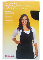 CRICKET Cover Up Blokr Apron, Black, Bleach proof, polyester