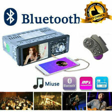 4.1'' Radio Voiture Bluetooth USB TF/AUX / FM/AM MP3 Poste de Voiture Main Libre
