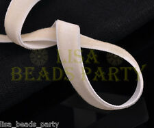 """New 10yards 3/8"""" 10mm Velvet Ribbon Bows Wedding Party Decoration Sew Lt Apriopt"""