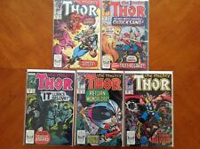 Thor (1962 - 1996 1st Series Journey Into Mystery) #401, #402, #404, #406 & #407