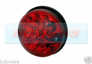 LAND ROVER DEFENDER 90 110 RDX 73MM/74MM RED LED REAR STOP/TAIL LAMP/LIGHT