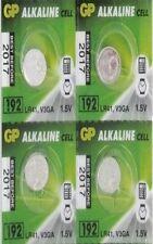 GP192 LR41 AG3 V3GA Alkaline Batteries 4 Pcs