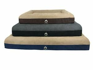 On Paws 'Sleep Easy Bed' Black, Size L Orthopaedic Memory Foam Dog Bed