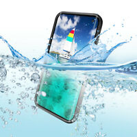 REDPEPPER IP68 Waterproof Fingerprint Unlock Back Case for Samsung Galaxy S10
