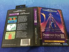 Phantasy Star 3 SEGA Mega Drive PAL Version - Custom Game - Grade AAA+++