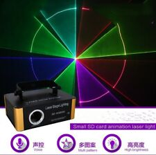 Mini RGB SD Animation Laser Light DMX Projector Show DJ Party Stage Lighting Yc