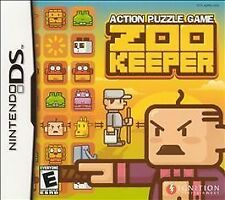 ZOO KEEPER NINTENDO DS 3DS PUZZLE GAME COMPLETE IN BOX + MANUAL ZOOKEEPER
