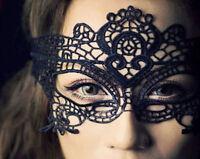 Ladies Lace Mask Halloween Masquerade Ball Venetian Sexy Costume Fancy Dress