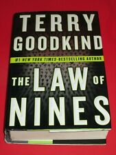 wmf* SALE : TERRY GOODKIND ~ THE LAW OF NINES  HB