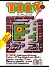 MAGAZINE TILT MICROLOISIRS NUMÉRO 63 - Février 1989