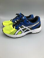 Asics Gel Contend 3 Running Athletic Shoes Blue Yellow C566Q Men's US Size 4