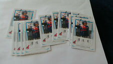 2011 ( Bowman Prospects #BP26 CHUN-HSIU CHEN INDIANS CPBL 12 card lot