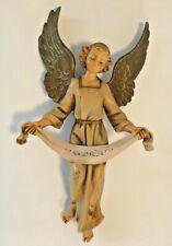 Vintage Fontanini by Roman Heirloom Nativity Figure Gloria Angel 1983 #307