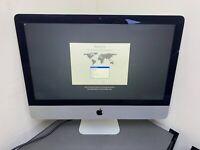 "Apple iMac 21.5"" A1418 Intel QUAD Core i5 2.7GHz 8GB 1TB HD GRADE C CRACKED"