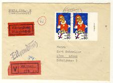 DDR - EIL-WERTBRIEF aus NEUEIBAU Nr. 2877 in seltener MeF (9516/652N)