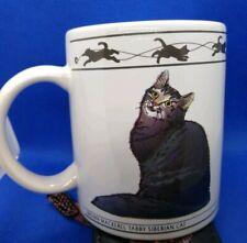 Brown Mackerel Tabby Siberian Abyssinian Cat Mug Hh (C17)