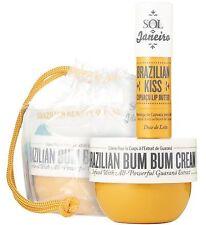 Sol De Janeiro Brazilian Bum Bum Cream & Cupuaçu Lip Butter Travel Size Set
