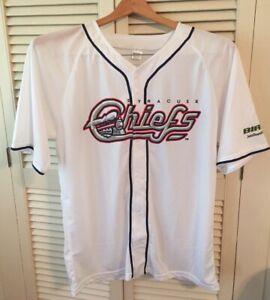 SYRACUSE CHIEFS 2016-2018 Baseball Jersey Men's Shirt Size XL Minor League NY