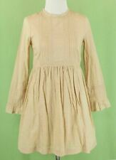 343 NWT Bonpoint girl beige dress lace embroidered NEW Size 12