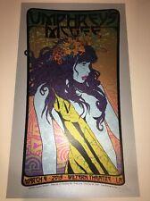 Chuck Sperry Umphrey's McGee Silkscreen Poster Los Angeles 2015