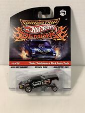 Hot Wheels Dragstrip Demons Snake Prudohmme's Black Snake Cuda w/Real Riders