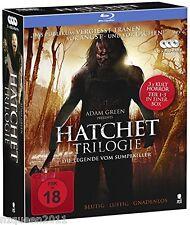 Hatchet Triologie Komplettbox mit allen 3 Teilen (3 Blu-rays)  * NEU & OVP *