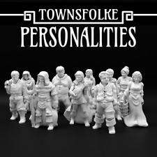 Townsfolke: Persönlichkeiten 28mm d&d NKS