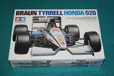Braun Tyrrell Honda 020 F1 Tamiya 1/20 Factory Sealed.