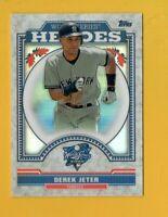 8925 2014 Topps Chrome Update World Series Heroes #WSC7 Derek Jeter YANKEES CARD