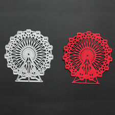 Ferris Wheel Metal Cutting Dies Stencil Scrapbooking Card Paper Embossing Craft
