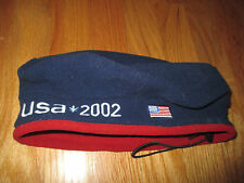 2002 USA Winter OLYMPIC GAMES Salt Lake City (One-Size) Knit Cap ROOTS