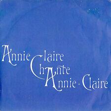 ANNIE-CLAIRE CLAUZET CHANSON DE NOVEMBRE FRENCH ORIG EP