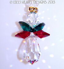 m/w Swarovski Crystal Christmas Sweet Heart Angel Suncatcher Lilli Heart Designs
