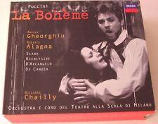 Puccini: La Boheme Gheorghiu Alagna Chailly 2 CD GERMAN