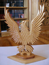 EAGLE______CARVED WOOD SCULPTURE by STELICA COVACI !!!!