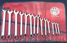 READ Vintage 14 Piece MAC Tools USA Metric Combination Wrench Set 6-19mm SCM14K