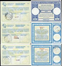 Portugal Reply Paid Coupons Ircs 1973-8 . 6 Items