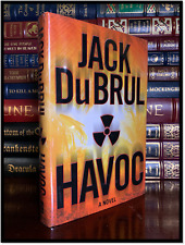 Havoc ✎SIGNED✎ by JACK DuBRUL Mint Hardback 1st Edition First Printing